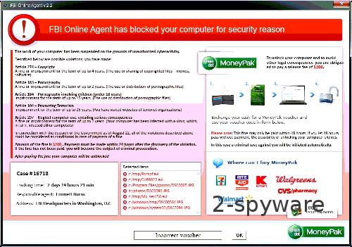 FBI Online Agent ögonblicksbild