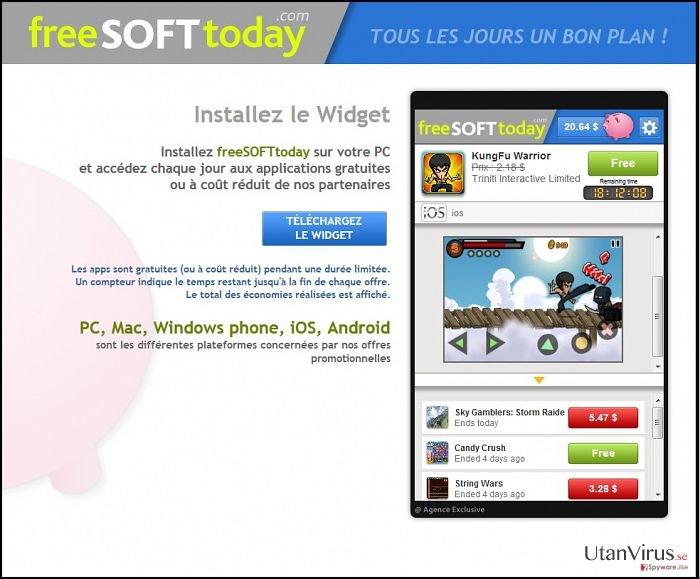 FreeSoftToday ögonblicksbild