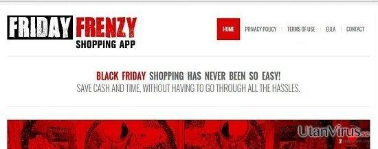 Annonser från Friday Frenzy ögonblicksbild