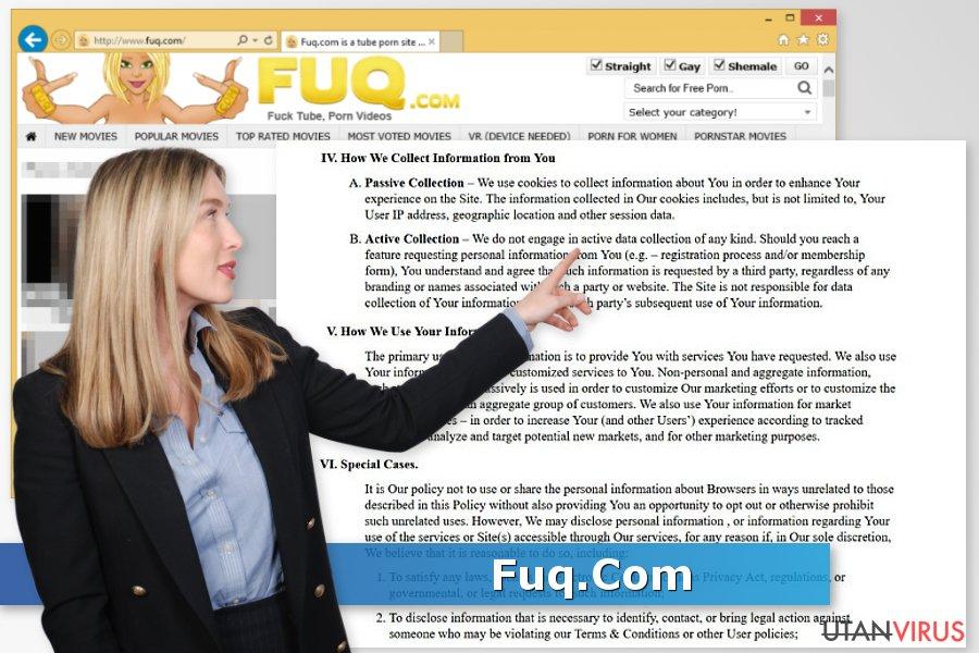 Fuq.com-viruset ögonblicksbild