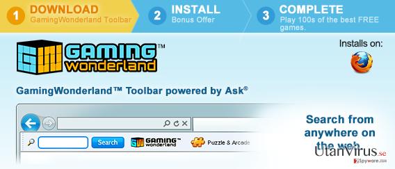 Verktygsraden Gaming Wonderland ögonblicksbild