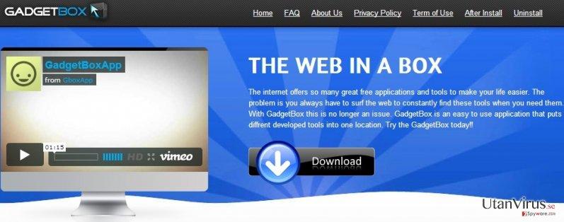 Gboxapp ögonblicksbild