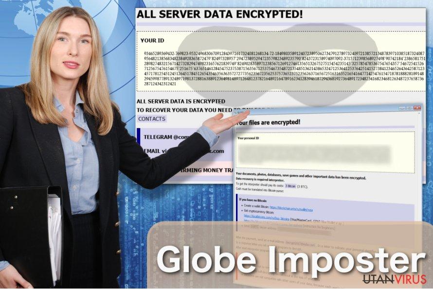 Globe Imposter ransomware