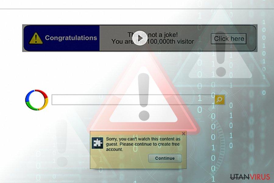 Google omdirigeringsvirus (sökresultat)