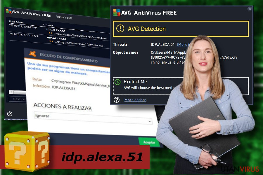 Idp.alexa.51 detektion