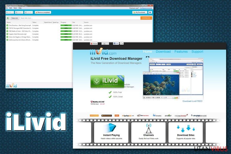 iLivid virus ögonblicksbild