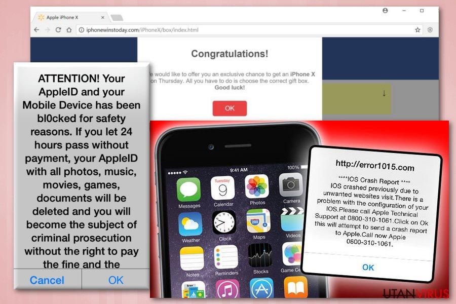 iPhone bluff