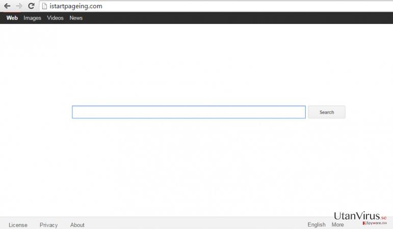 Kaparen Istartpageing.com ögonblicksbild
