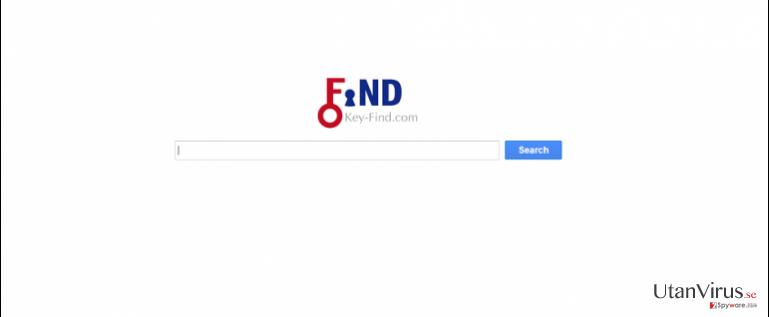Key-Find.com virus ögonblicksbild
