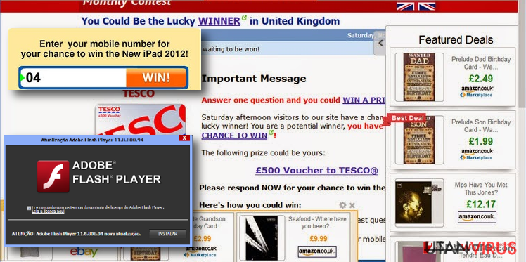 Flera exempel på Liveadexchanger.com-annonser