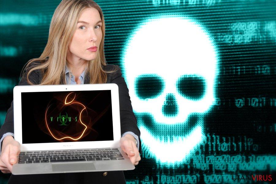 Mac-virus borttagning