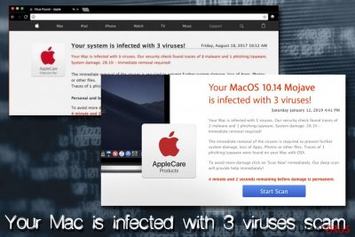 Mac-virus - Your Mac is infected with 3 virus