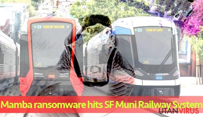 Kommunalt järnvägssystem attackerat av Mamba ransomware