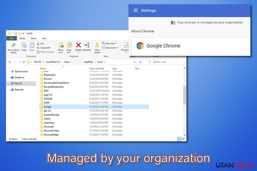 Hanteras av din organisation terminering