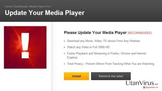 Annonser från MediaPlayersvideos 1.1 ögonblicksbild
