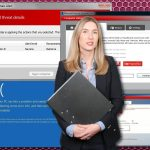 Microsoft Security Essentials Alert virus ögonblicksbild