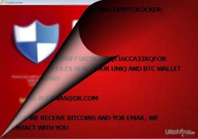 Är MNS Cryptolocker relaterat till CryptoLocker?