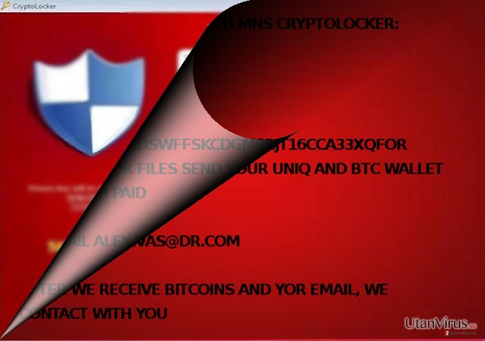 Is MNS Cryptolocker related to CryptoLocker?