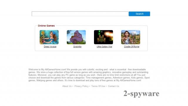 my.allgameshome.com ögonblicksbild