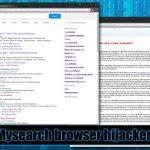 Viruset Mysearch ögonblicksbild