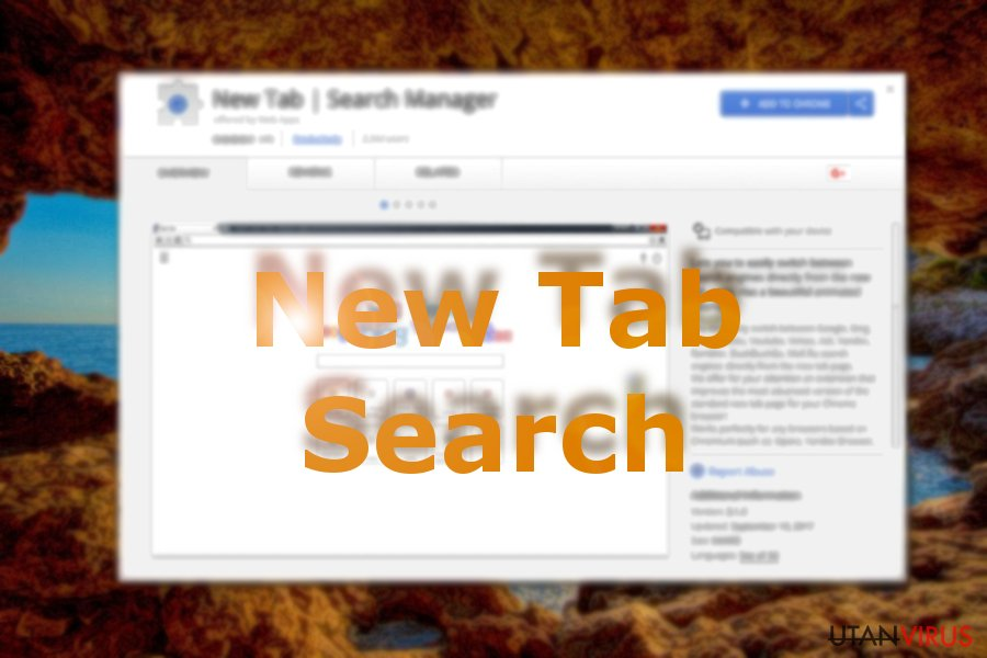 New Tab Search