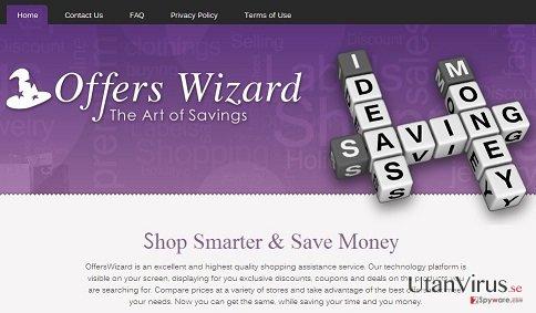 Annonser från OffersWizard ögonblicksbild