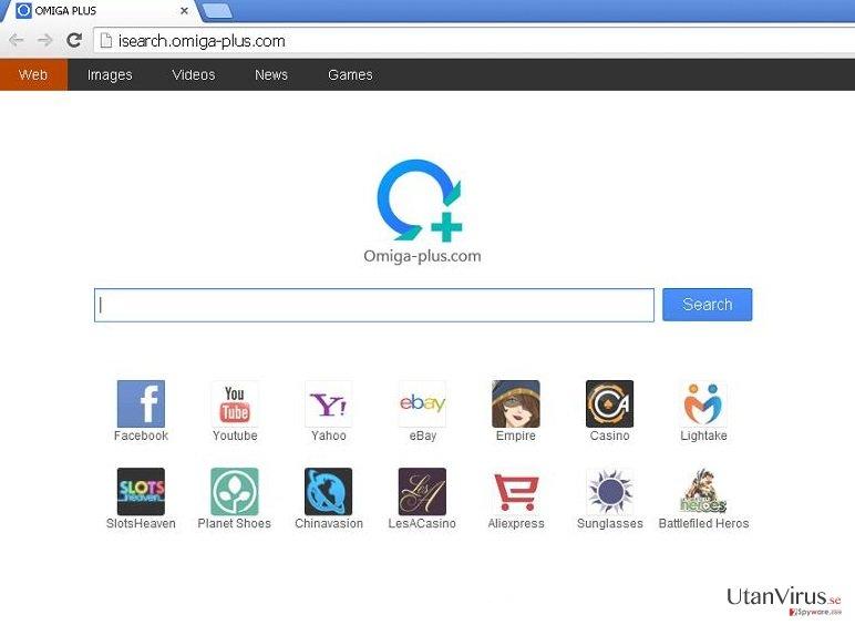 Omiga-plus.com ögonblicksbild