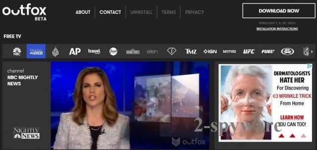 Outfox TV ögonblicksbild