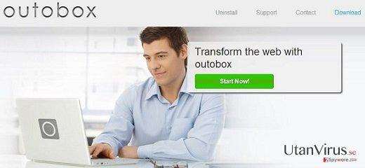 Annonser från OutoBox ögonblicksbild