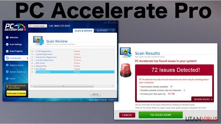 PC Accelerate Pro ögonblicksbild