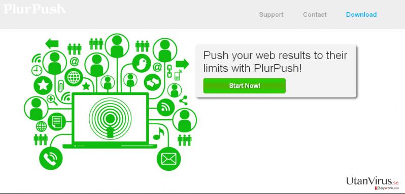 PlurPush ögonblicksbild