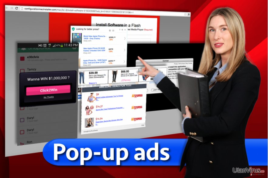 Pop-up ads