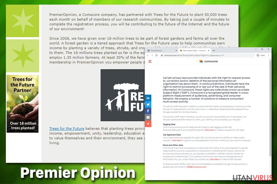 Premier Opinion virus