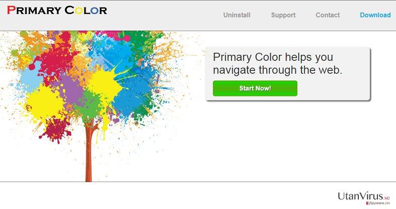 Primary Color-annonser ögonblicksbild