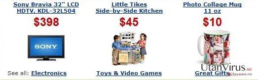 Annonser från ArcadeParlor ögonblicksbild