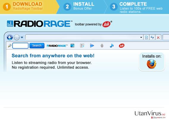 Verktygsraden RadioRage ögonblicksbild