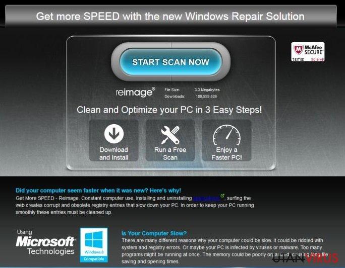 ReimagePlus.com-annonser ögonblicksbild