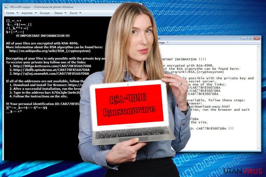 Gisslanprogrammet RSA-4096 ögonblicksbild