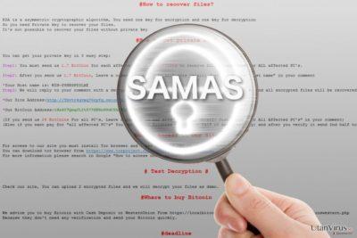 Samas ransomware under förstoringsglaset