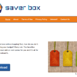 Saver Box annonser ögonblicksbild