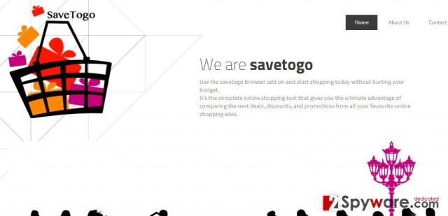 SaveTogo Annonser ögonblicksbild