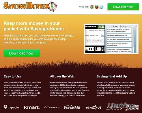 Savings Hunter ögonblicksbild
