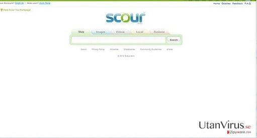 Scour Viruset ögonblicksbild