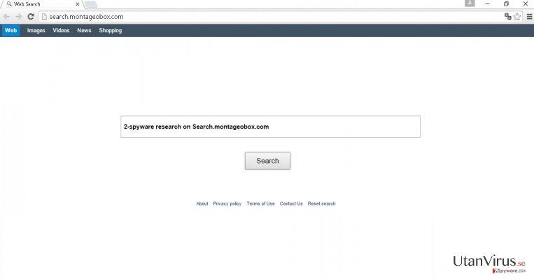 Search.montageobox.com virus