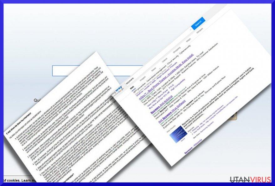 Viruset Search.myway.com ögonblicksbild