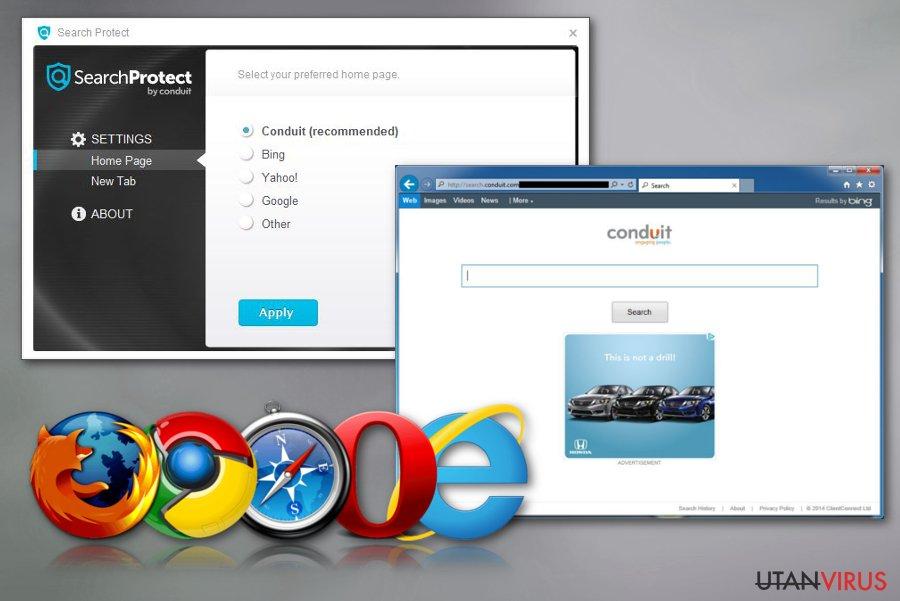 Search Protect ögonblicksbild