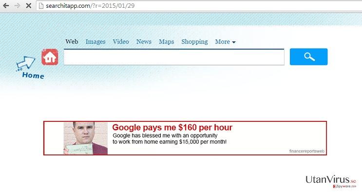 Searchitapp.com ögonblicksbild