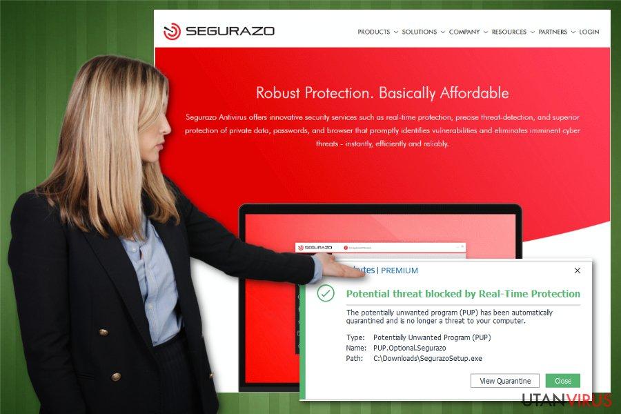 Segurazo, ett oseriöst verktyg