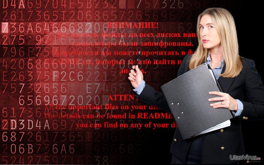Shade ransomware ögonblicksbild