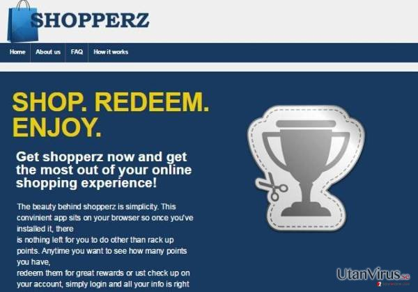 Annonser från Shopperz ögonblicksbild